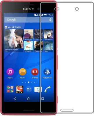 MOBIVIILE Tempered Glass Guard for Sony Xperia M4 Aqua / Sony Xperia M4 Aqua Dual SIM(Pack of 1)