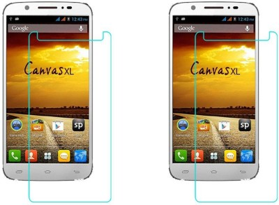ACM Tempered Glass Guard for Micromax Superfone Canvas Xl A119(Pack of 2)