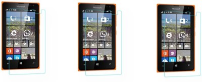 ACM Tempered Glass Guard for Microsoft Lumia 532 (Pack of 3)(Pack of 3)