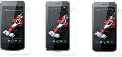 Macron Tempered Glass Guard for Xolo Q700i(Pack of 3)