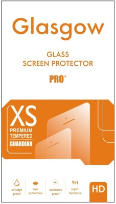 Glasgow Tempered Glass Guard for Micromax Bolt D200(Pack of 1)