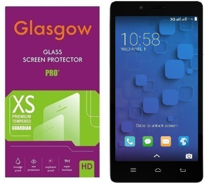 Glasgow Tempered Glass Guard for InFocus M330(Pack of 1)