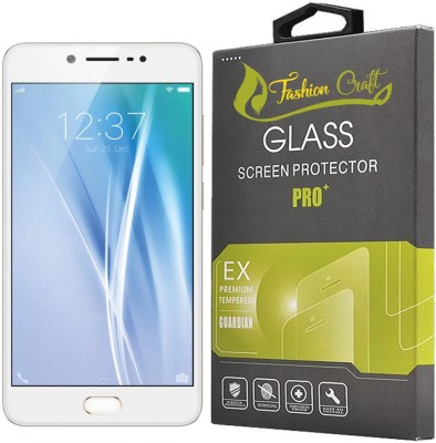 FashionCraft Tempered Glass Guard for Vivo V5(Pack of 1)