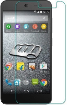 MOBIVIILE Tempered Glass Guard for Micromax A190 Canvas HD plus(Pack of 1)