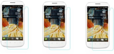 ACM Tempered Glass Guard for Micromax Smarty 4.3 A65(Pack of 3)