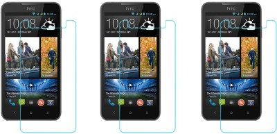 ACM Tempered Glass Guard for Htc Desire 516c(Pack of 3)