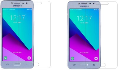 Icod9 Tempered Glass Guard for Samsung Galaxy J2 Prime(Pack of 2)