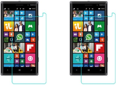 ACM Tempered Glass Guard for Nokia Lumia 830(Pack of 2)