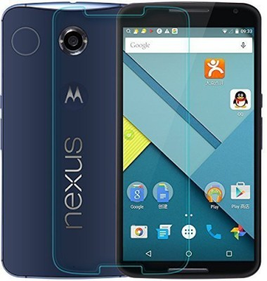 Craftech Tempered Glass Guard for Motorola Moto Nexus 6(Pack of 1)