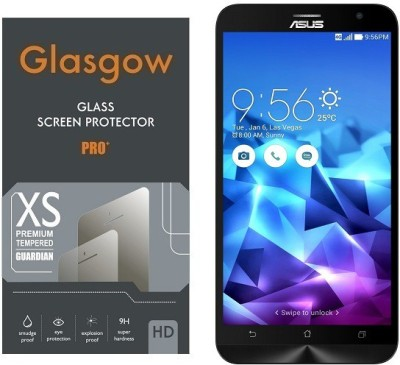 Glasgow Tempered Glass Guard for Asus Zenfone 2 Deluxe ZE551ML (5.5 inch Display)(Pack of 1)