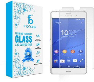 Foyab Tempered Glass Guard for Sony Xperia Z3 Plus