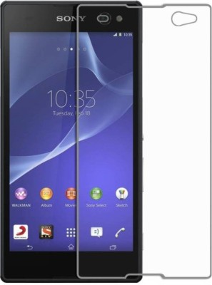 EASYBIZZ Tempered Glass Guard for Sony Xperia C3