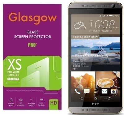 Glasgow Tempered Glass Guard for HTC One E9+(Pack of 1)