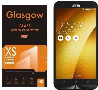 Glasgow Tempered Glass Guard for Asus Zenfone 2 Laser ZE550KL Pack of 1 Glasgow Screen Guards