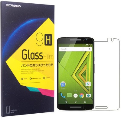 eCase Tempered Glass Guard for Motorola Moto X Play(Pack of 1)