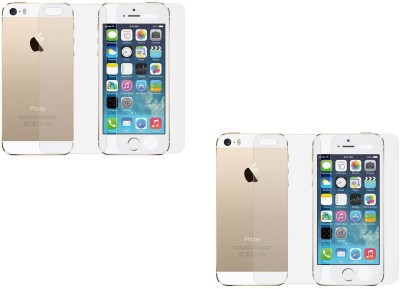 MudShi Front and Back Screen Guard for Apple iPhone 5s(Pack of 1)