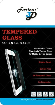 Furious3D Tempered Glass Guard for Sony Xperia M4 Aqua Dual(Pack of 1)
