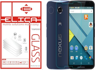 ELICA Tempered Glass Guard for Motorola Nexus 6(Pack of 1)