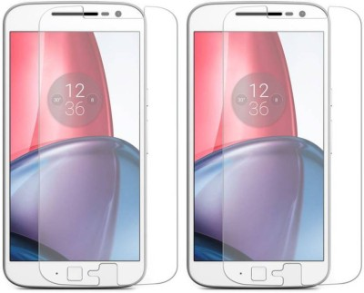 Vibhur Tempered Glass Guard for Motorola Moto G (4th Generation) Plus(Pack of 2)