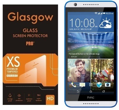 Glasgow Tempered Glass Guard for HTC Desire 820(Pack of 1)
