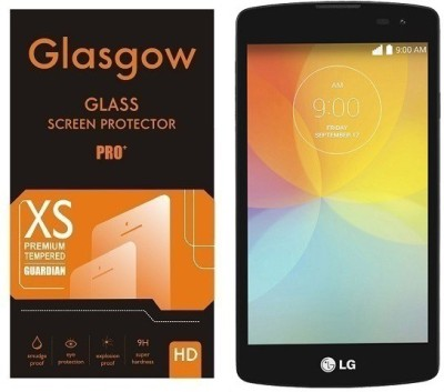 Glasgow Tempered Glass Guard for LG F60(Pack of 1)