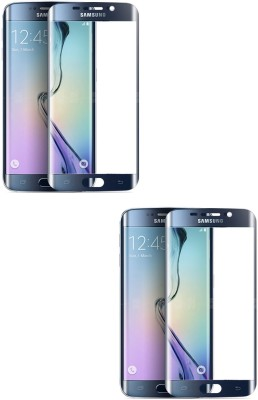 MudShi Tempered Glass Guard for Samsung Galaxy S6 Edge Golden Color(Pack of 1)
