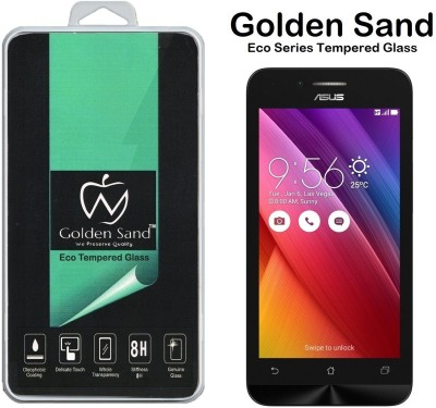Golden Sand Tempered Glass Guard for Asus Zenfone Go 4.5(Pack of 1)