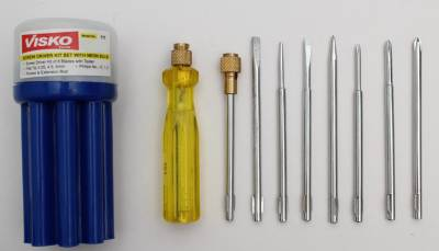 Visko Combination Screwdriver Set