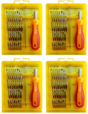 Jackly 6032-A 32 in 1-4Pcs Combination Screwdriver Set(Pack of 4)  available at flipkart for Rs.799