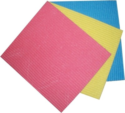 De Ultimate Kitchen Cleaning Sponge Wipe Scrub Pad(Medium, Pack of 3) at flipkart