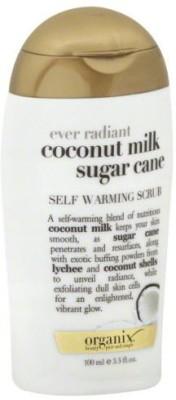 Organix Ever Radiant Coconut Milk Sugar Cane Self Warming  Scrub(100 ml)
