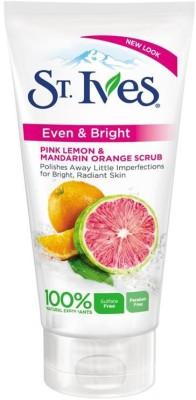 St. Ives Even & Bright Pink Lemon and Mandarin Orange Scrub(150 ml)