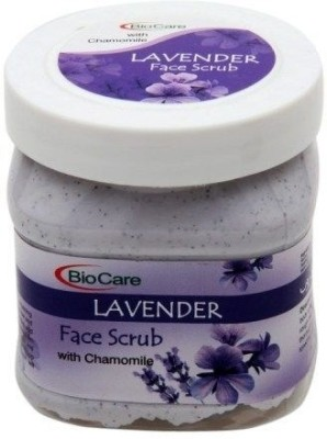 Biocare Face Scrub Lavender With Chamomile? Scrub(500 ml)  available at flipkart for Rs.169