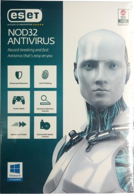 Eset NOD32 Antivirus Version 9 2016 1 PC 1 Year