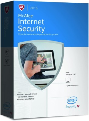McAfee Internet Security 2015 1 PC 1 Year