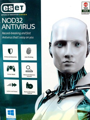 ESET NOD32 Antivirus, 3 PC 1 Year