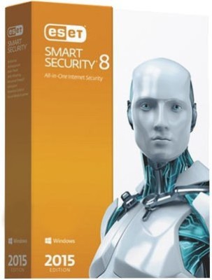 ESET Smart Security V.8 Protect 5 Devices 1 Yr