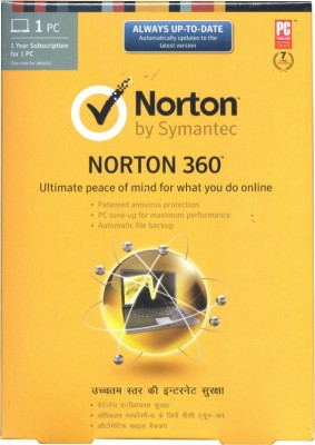 Norton 360 1 PC 1 Year