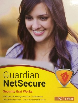 Guardian Netsecure Antivirus 2015 1 PC 1 Year