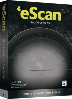 eScan AntiVirus for Mac 1 User 1 Year