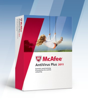McAfee Anti-Virus Plus 2011 1 PC 1 Year