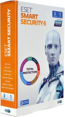 ESET Smart Security 6 with 3 Activation keys Inside