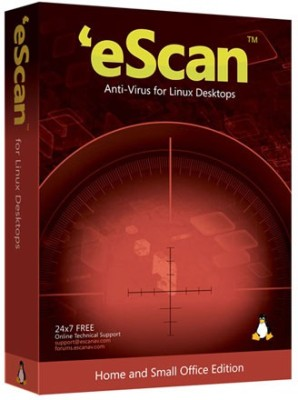eScan Anti-Virus with Cloud Security 1 User 1 Year