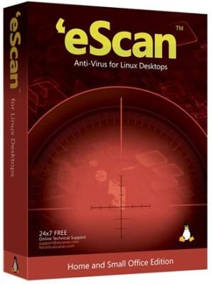 eScan Anti-Virus For Linux Desktop 5 Users 2 Years