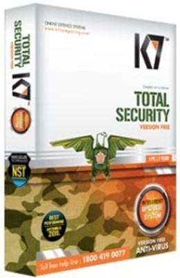 K7 Total Security 3 Pc 1Year 1 Installation Cd & 3 Serial keys Every Key 1 Year Valid