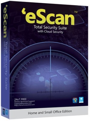eScan Total Security Suite with Cloud Security 1 User 3 Years