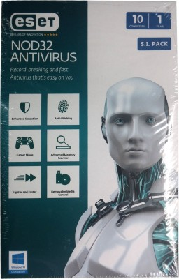 ESET Nod32 10PC 1Year Antivirus Version 9