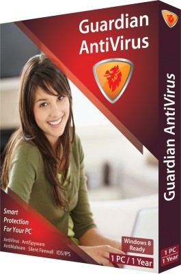 Guardian Anti Virus 2013 1 PC 1 Year at flipkart