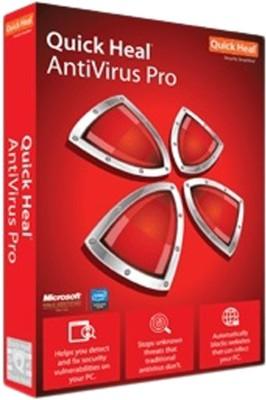 Quick Heal Anti-virus 1 User 1 Year(CD/DVD)
