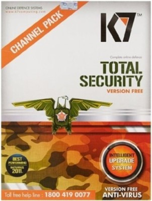 K7 Total Security 1 Pc 1year Version Free